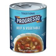 Progresso Traditional Beef & Vegetable Soup