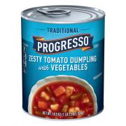 Progresso Traditional Zesty Tomato Dumpling Soup
