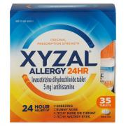 Xyzal Allergy 24 Hour Relief