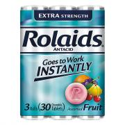 Rolaids Extra Strength Tablets Fruit Flavored