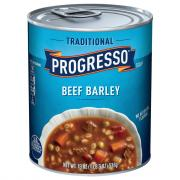 Progresso Beef Barley Soup