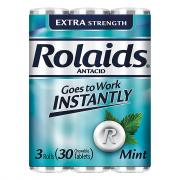 Rolaids Extra Strength Tablets Mint Flavored