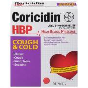 Coricidin HBP Cough & Cold Tablets