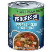 Progresso Reduced Sodium Chicken Wild Rice Soup