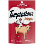 Temptations Hearty Beef Cat Treats