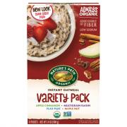 Nature's Path Organic Variety Pack Hot Cereal