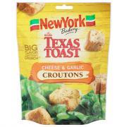 New York Texas Toast Cheese & Garlic Croutons