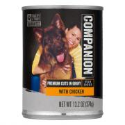 Companion With Chicken Cuts Dog Food