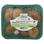 Nature's Promise Organic Whole Baby Bella Mushrooms