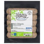 Nature's Promise Spicy Jalapeno Chicken Sausage