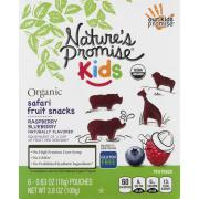Nature's Promise Organic Safari Raspberry Blueberry