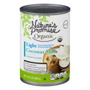 Nature's Promise Organic Light Coconut Milk Unsweetened