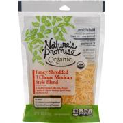 Nature's Promise Organic Fancy Shredded 3 Cheese Mexican
