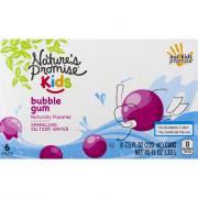 Nature's Promise Kids Bubble Gum Sparkling Seltzer Water