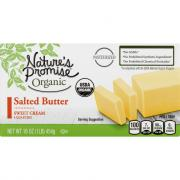 Nature's Promise Organic Salted Butter