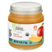 Nature's Promise Organic Apple Mango Baby Food
