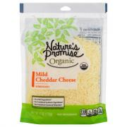 Nature's Promise Organic Mild Cheddar Shredded Cheese