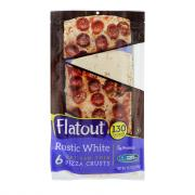 Flatout Thin Crust Flatbreads Artisan Pizza Rustic White