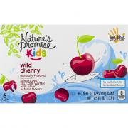 Nature's Promise Kids Wild Cherry Sparkling Seltzer Water
