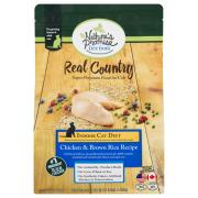 Nature's Promise Real Country Cat Chicken and Brown Rice