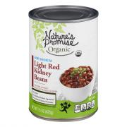 Nature's Promise Organic Low Sodium Light Red Kidney Beans