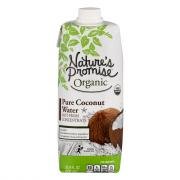 Nature's Promise Organic Pure Coconut Water