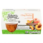Nature's Promise Organic Diced Yellow Cling Peaches