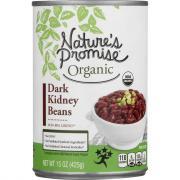 Nature's Promise Organic Dark Kidney Beans
