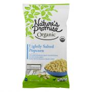 Nature's Promise Organic Lightly Salted Popcorn