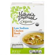Nature's Promise Organic Low Sodium Chicken Broth
