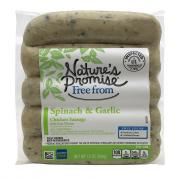 Nature's Promise Spinach & Garlic Chicken Sausage