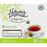 Nature's Promise Organic Green Tea Bags