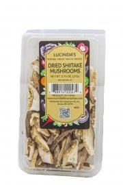 Lucinda's Dried Shiitake Mushrooms