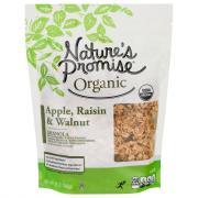 Nature's Promise Organic Apple Raisin Walnut Granola