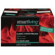 Smart Living Classic 2-Hour Firelogs Case