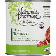 Nature's Promise Organic Diced Tomatoes