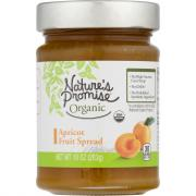 Nature's Promise Organic Apricot Fruit Spread