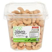 Nature's Promise Organic Roasted Salted Cashews