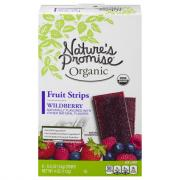 Nature's Promise Organic Wild Berry Fruit Strips