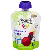 Nature's Promise Kids Apple Berry Banana Squeezable Fruit