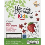 Nature's Promise Organic Strawberry Stars Fruit Snacks
