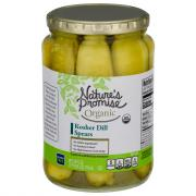 Nature's Promise Organic Kosher Dill Pickle Spears
