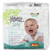 Nature's Promise Baby Size 2 Diapers