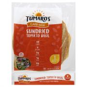 Tumaro's Low-In-Carb Sundried Tomato Basil Wraps