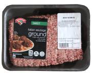 Hannaford Sweet Italian Ground Sausage