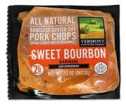 Vermont Country Farms Sweet Bourbon Marinade Pork Chops