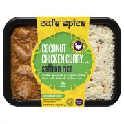 Cafe Spice Coconut Chicken Curry with Saffron Rice