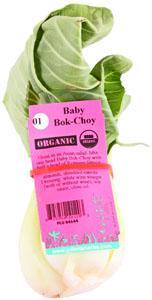 Organic Baby Bok Choy