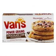 Van's Power Grains Chocolate Chip Frozen Waffles