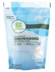 Grab Green Fragrance Free Dishwashing Detergent Pods